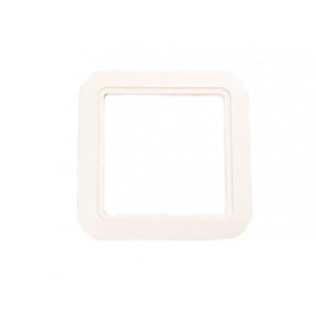 Blende für ES-Kunststoffsteckdose cremé
